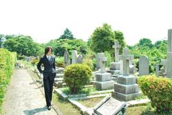 ロックオン・ストラトスの墓参り ガンダム00