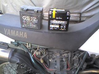 セロー225WE バッテリー交換