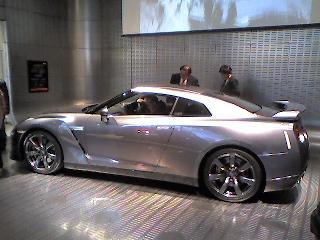 日産 新型GT-R35 @銀座