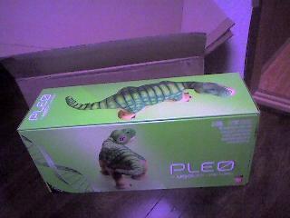 恐竜ペット PLEOがやって来た!