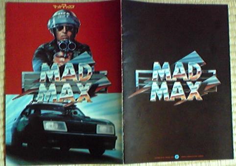 映画 MAD MAX パンフレット