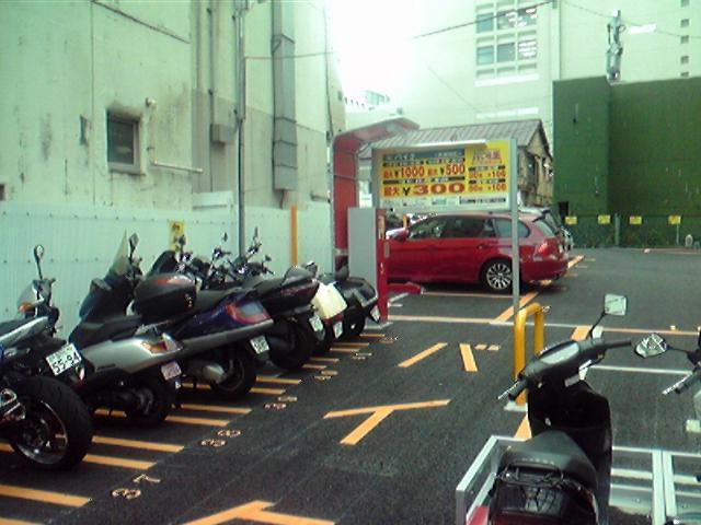 バイク用駐車スペース@虎ノ門