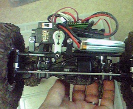 CR-01改造 サーボホーン