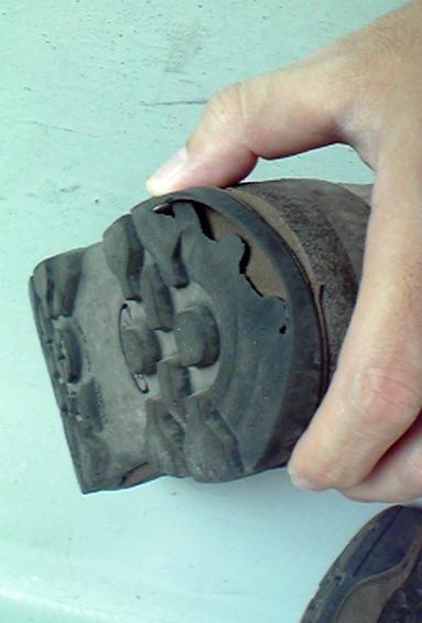 シリオ登山靴 修理