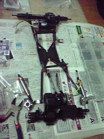 CR-01 MOA組み立て開始