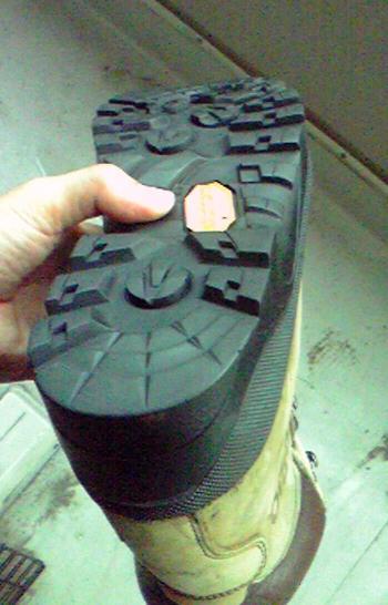 シリオ 登山靴 修理完了