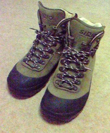 シリオ登山靴 靴ひも