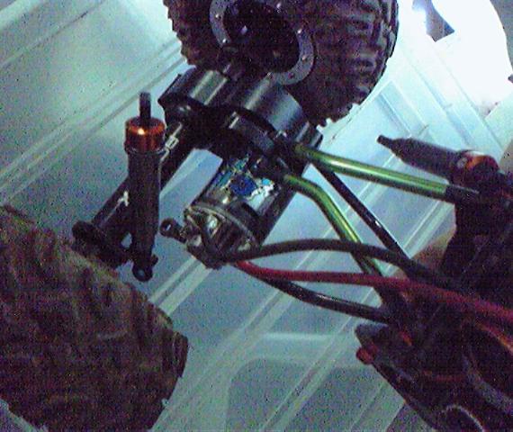RC-TRAX MOA  CR-01走行テスト