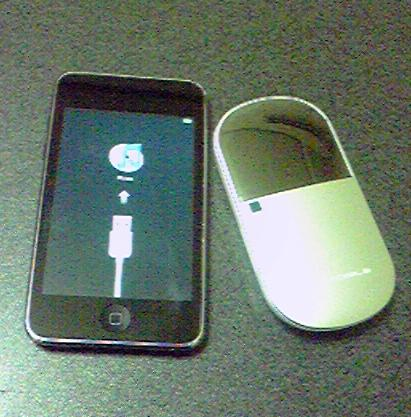 ipod touch と D25HW
