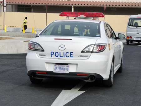 Yokotabase_policecar