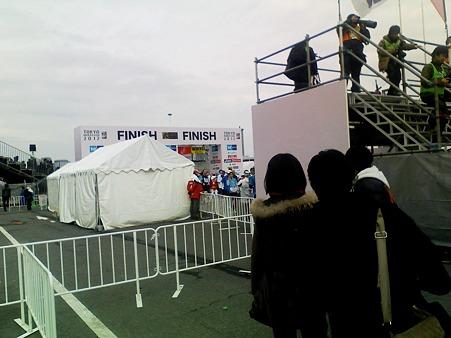 東京マラソン2012 tokyo_finish