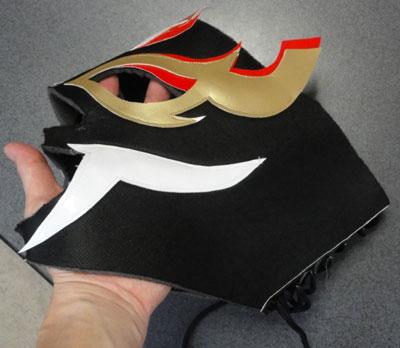 プロレス マスク 自作