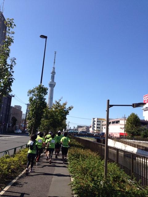 第14回 東京夢舞いマラソン201320131013_skytree