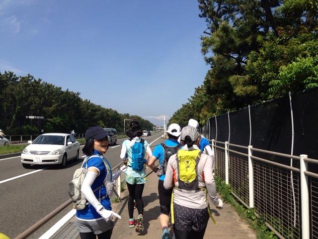箱根駅伝コースを走る 辻堂から芦ノ湖 20140504_syonan