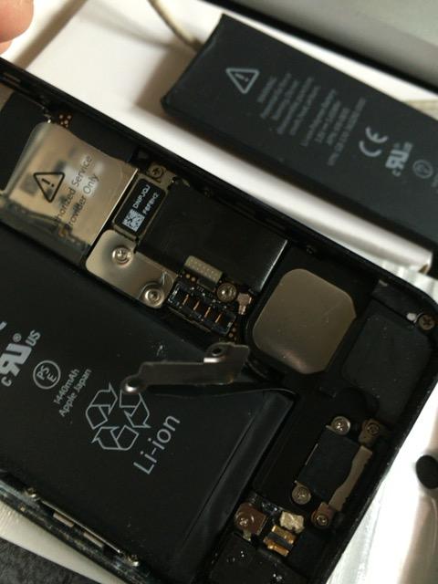 iphone5のバッテリー交換方法 費用 20160306_155247