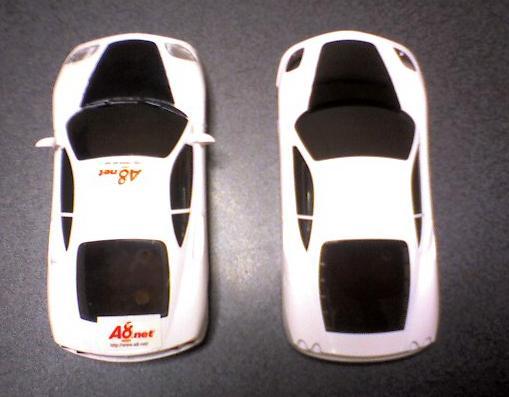 ミニッツ フェラーリモデナからF430B$X